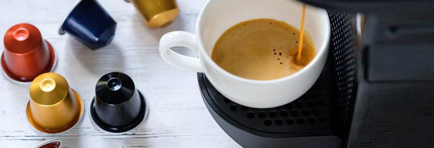 Capsules a cafe