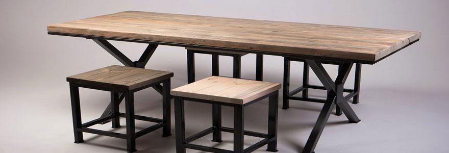 choisir des pieds pour une table